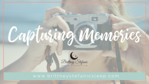 the importance of capturing memories